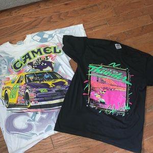 Vintage racing tee bundle